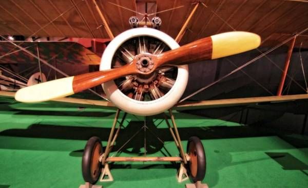 Landing Gear Photograph - Sopwith Camel Airplane by Dan Sproul