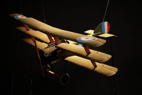Vintage Airplane Photograph - Sopwith Triplane, Omaka Aviation by David Wall