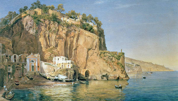 Italian Architecture Painting - Sorrento by Emanuel Stockler