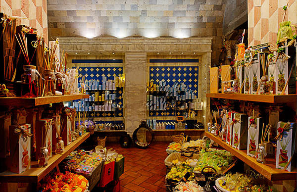 Photograph - Sorrento Negozio Tipico - Traditional Shop by Enrico Pelos
