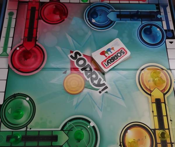 Photograph - Sorry Board Game by Dan Sproul