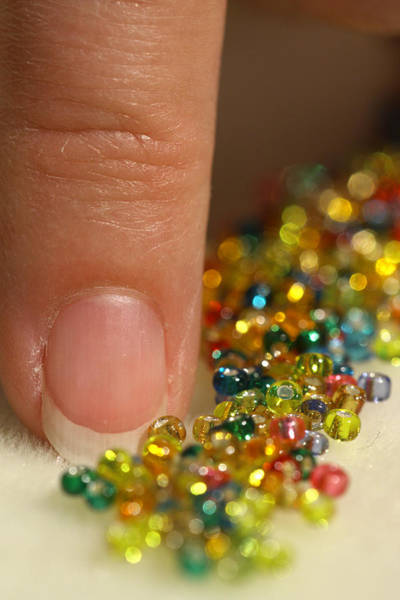 Photograph - Sorting Beads by Daniel Reed