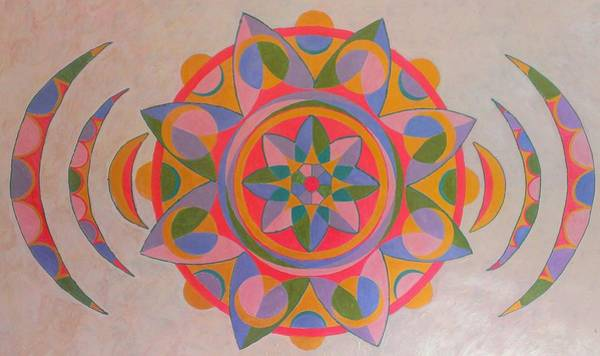 Priceless Painting - Soul Echo Mandala by Mauro Zaraj