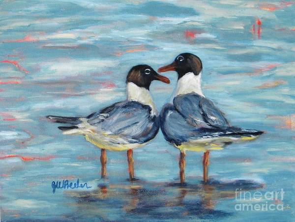 Alabama Painting - Soul Mates by JoAnn Wheeler