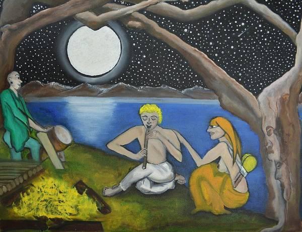 Djembe Wall Art - Painting - Soul Music by Rose Sambolin