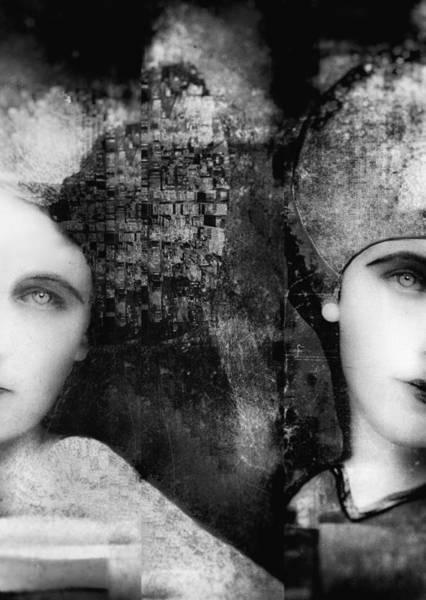 Twins Wall Art - Photograph - Soulmates by Nictsi Khamira
