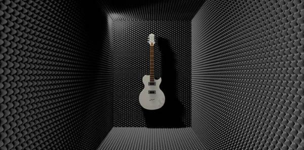 Mounted Digital Art - Sound Discrimination by Allan Swart