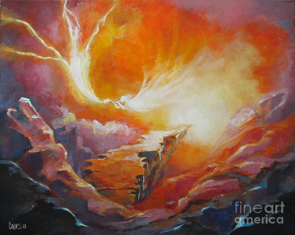 Wall Art - Painting - Sound Of Heaven by Tamer and Cindy Elsharouni