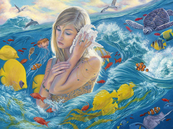Painting - Sound Of The Ocean by Lucie Bilodeau