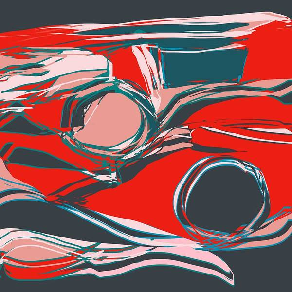 Digital Art - Sound Sifting  by Laureen Murtha Menzl