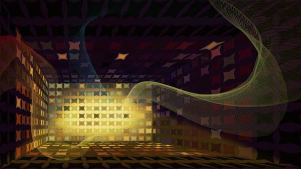 Elation Digital Art - Sound Vent by Constance Krejci