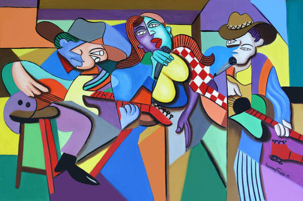Painting - Sounds Like A Country Song by Anthony Falbo