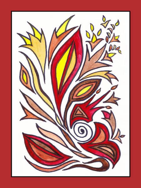 Doodle Painting - Sounds Of Color Doodle 1 by Irina Sztukowski