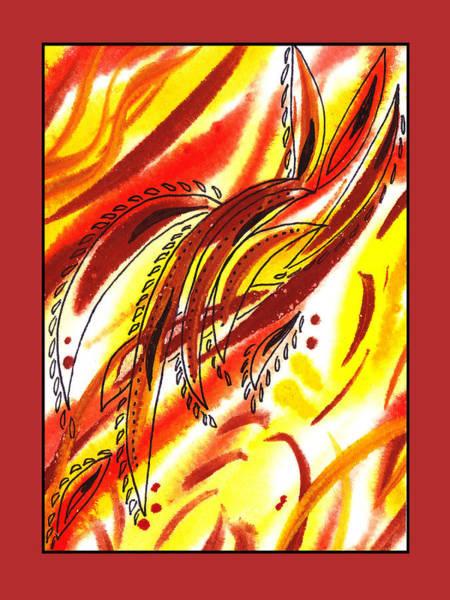 Doodle Painting - Sounds Of Color Doodle 5 by Irina Sztukowski