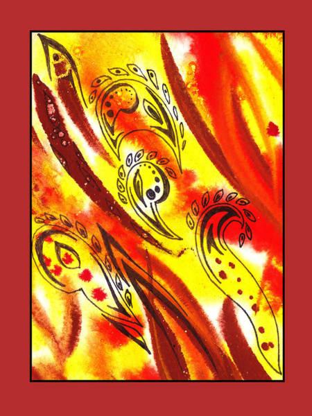 Doodle Painting - Sounds Of Color Doodle 6 by Irina Sztukowski