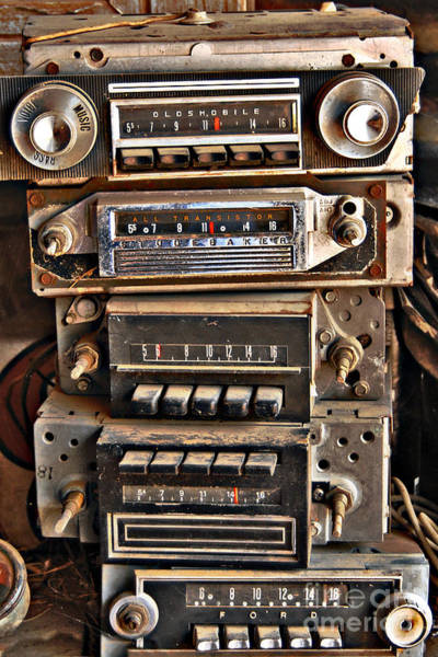 Car Stereo Photograph - Soundwiche by Lee Craig