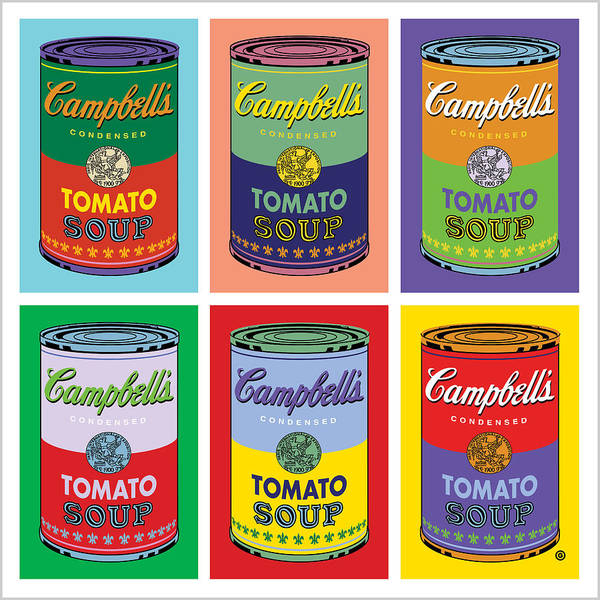 Vote Wall Art - Digital Art - Soup Cans by Gary Grayson