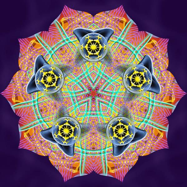 Digital Art - Source Fabric K3 by Derek Gedney