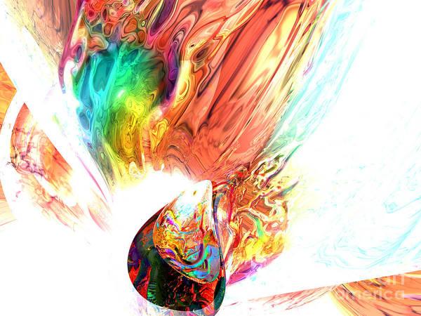 Wall Art - Digital Art - Source Of All Rainbows by Alexander Butler