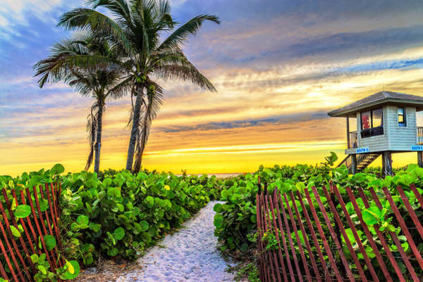 Photograph - South 5 At Delray Beach by Lynn Bauer