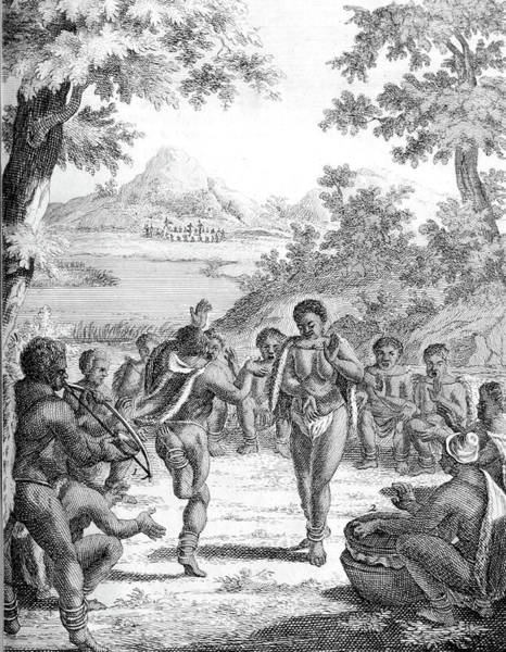 Arica Photograph - South Africa, Khoikhoi Dancing by Science Source