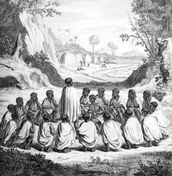 Arica Photograph - South Africa, Khoikhoi Wedding Ceremony by Science Source