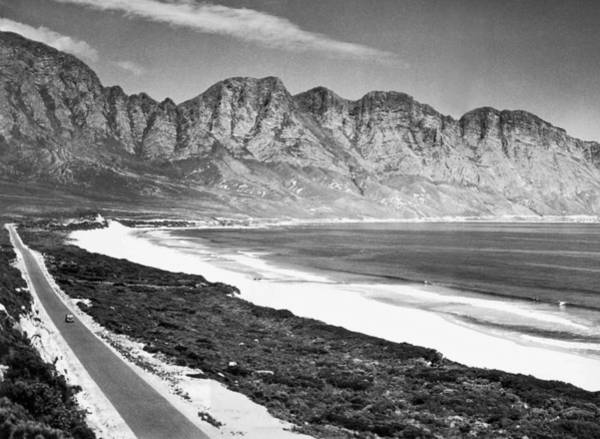 Idyll Photograph - South Africa's Marine Drive by Underwood Archives