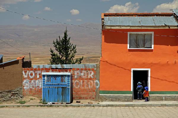 Andes Photograph - South America, Bolivia, Calamarca by Kymri Wilt