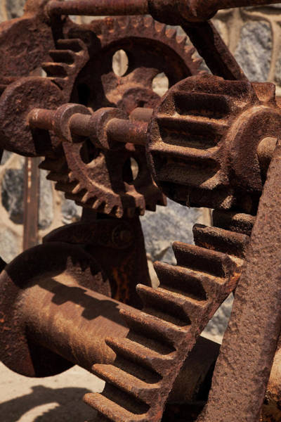 Corrosion Photograph - South America, Chile, Zapallar by Jaynes Gallery