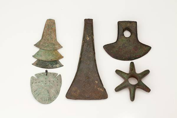 Andes Wall Art - Photograph - South American Bronze Age Objects by Paul D Stewart