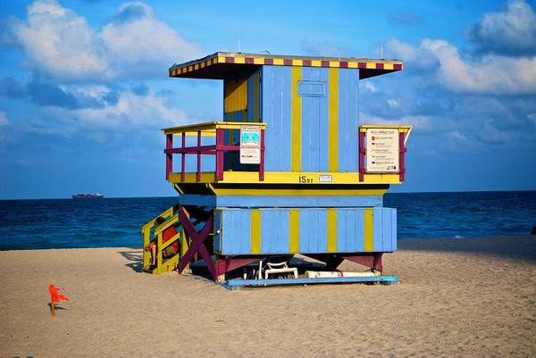 Photograph - South Beach 10 by Ricardo J Ruiz de Porras
