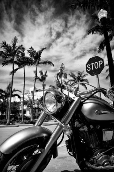 Wall Art - Photograph - South Beach Cruiser by Dave Bowman
