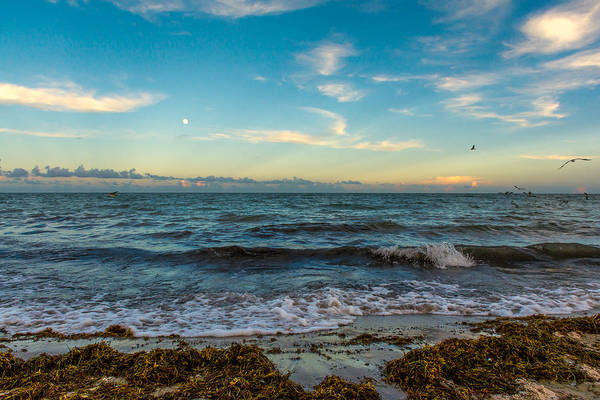 Key Biscayne Photograph - South Beach Sunset by Manuel Lopez