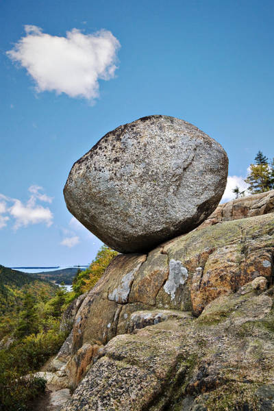Glacial Erratic Photograph - South Bubble Mountain by Hal Horwitz
