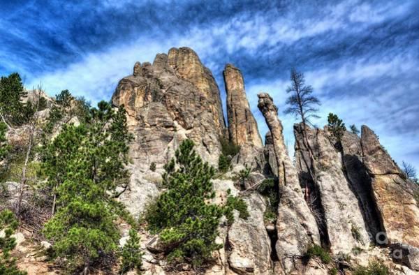 Photograph - South Dakota Rocks 3 by Mel Steinhauer