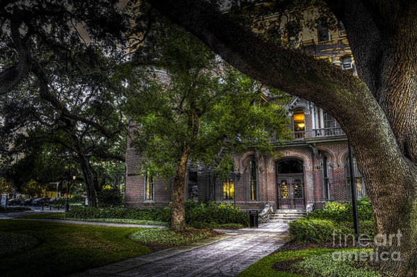 Hotel Photograph - South Entry by Marvin Spates