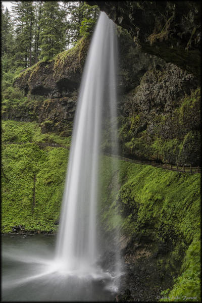 Photograph - South Falls 2 by Erika Fawcett