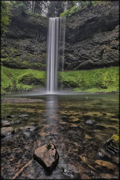 Photograph - South Falls Stream by Erika Fawcett