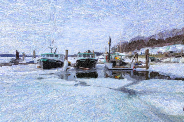 Photograph - South Freeport Harbor II by Tom Singleton