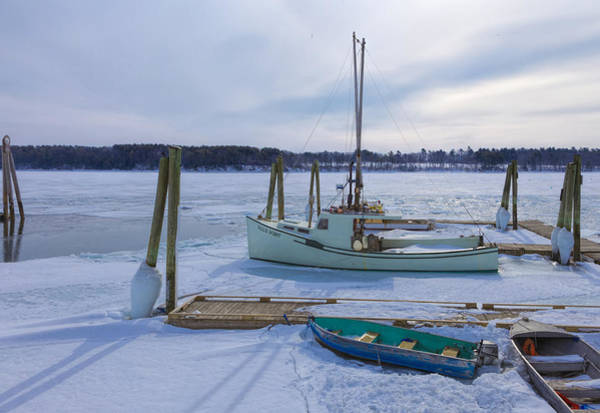 Photograph - South Freeport Harbor by Tom Singleton