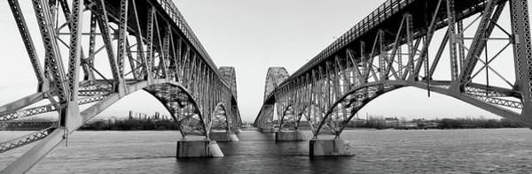 Wall Art - Photograph - South Grand Island Bridges, New York by Panoramic Images