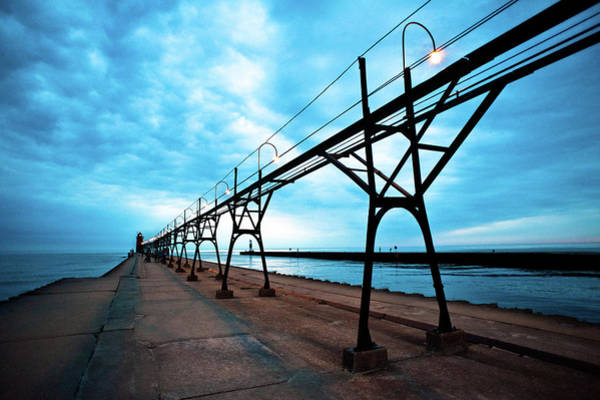 Photograph - South Haven Lighthouse by Sebastian Musial