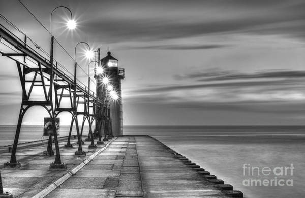 Two Harbors Photograph - South Haven Lighthouse by Twenty Two North Photography