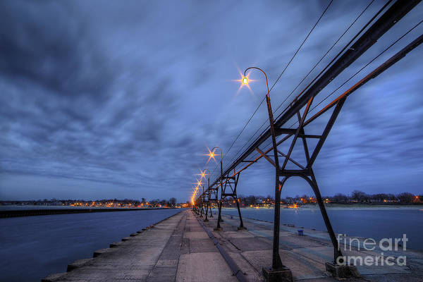 South Haven Wall Art - Photograph - South Haven Pier by Twenty Two North Photography