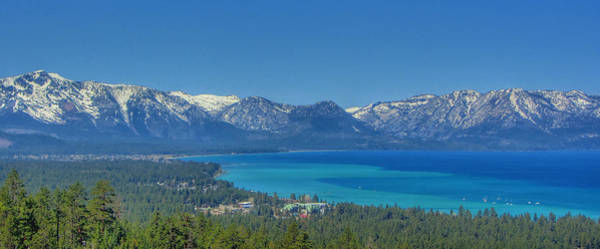 Timbers Photograph - South Lake Tahoe View by Brad Scott