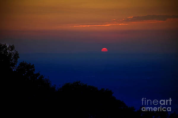 Photograph - South Mountain Sunset by Ronald Lutz