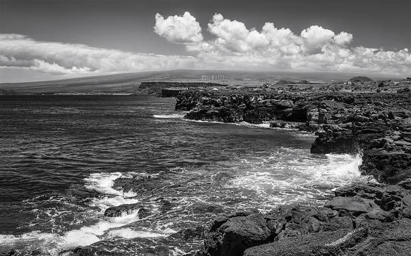 Wall Art - Photograph - South Point In Black And White by Eduard Moldoveanu