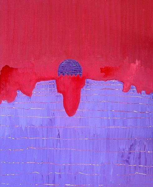 Painting - South Rim Sun Original Painting by Sol Luckman