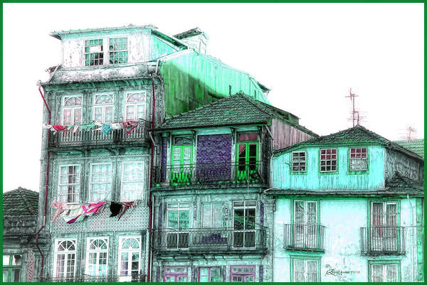 Digital Art - South Side Of Town-featured In Old Buildings And Ruins Group by Ericamaxine Price