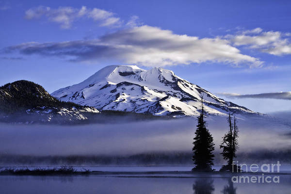 Photograph - South Sister From Sparks Lake by Stuart Gordon